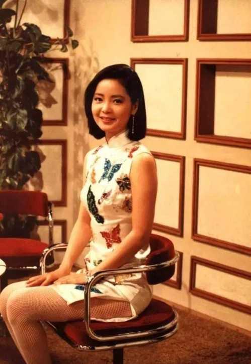 旗袍与邓丽君 有一种旗袍美